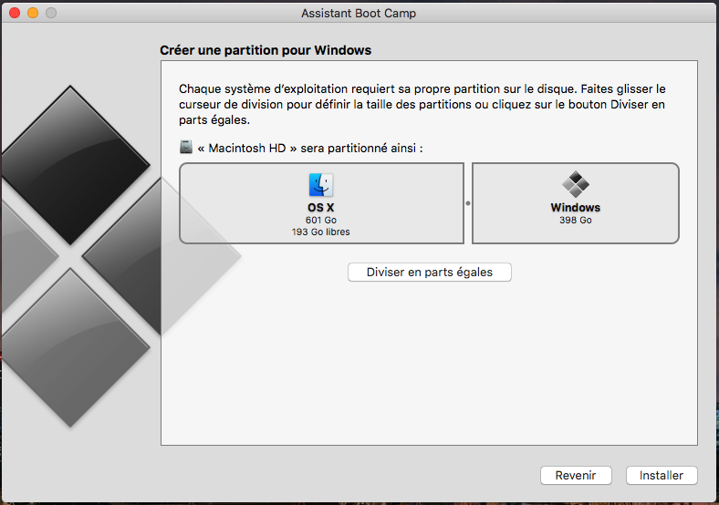 mac bootcamp partition size